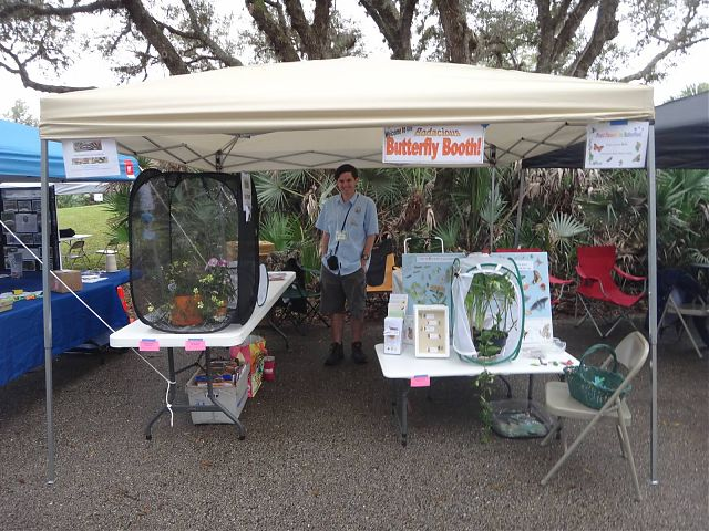 Booth at the Scrub Jay Festival